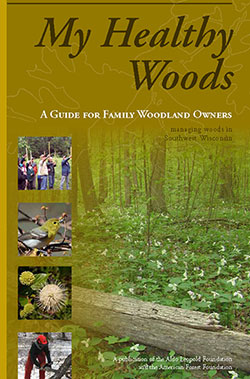 My Healthy Woods handbook cover